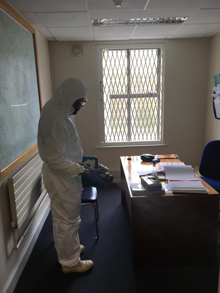 Coronavirus Deep Cleaning Office | Forensic Cleaning Services