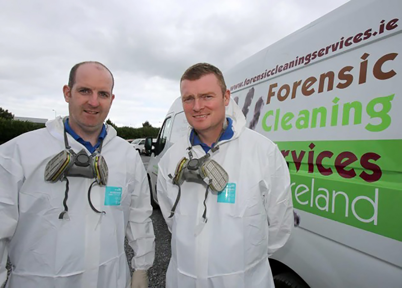 Micheal Holahan and Brendan Reilly | Forensic Cleaning Services Ireland